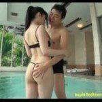Image E masturbata de prieten in piscina