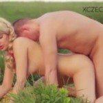 Image Blonda superba adora sexul in aer liber