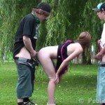 Image Doi pustani cuceresc o fata in parc si o fut imediat
