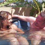 Image Bruneta fututa in piscina de dragul vremurilor bune