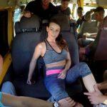 Image Spre scoala in autobuz are pofta de sex si este fututa de calatori