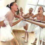 Image Sex cu mai multe balerine la repetitii