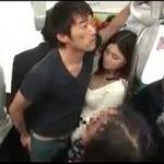 Image Barbat pervers masturbeaza o asiatica captiva in metrou