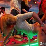 Image Petrecere in club cu studente bete si dornice de pula care si-o trag cu stripperi dotati