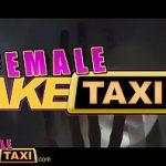 Image Taxi fake cu soferita lesbianca care isi masturbeaza clienta pe bancheta din spate