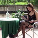 Image Gasita la restaurant in tinuta sexy si invitata la hotel pentru sex