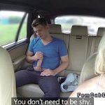 Image Freaca pula in taxi fake si face sex cu soferita excitata