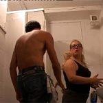 Image Grasa abuzata sexual la munca de coleg excitat