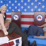 Image Hillary Clinton penetrata la Casa Alba de Donald Trump