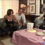Image Patru femei isi celebreaza ziua de nastere si fac sex in grup