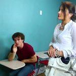 Image Elev futut la scoala de profa si mama perverse