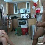 Image Party de gagici cu stripper negru chemat sa le dea la muie