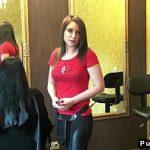 Image Salon privat frizerita se lasa penetrata pentru bani cash