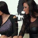 Image Casting porno cu doua brunete lesbiene si futacioase grav