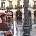 Image Turista africana verificata la acte si fututa de politist viril