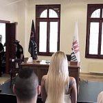 Image Sex in sala de tribunal intre judecatori si avocate sexy