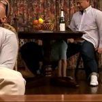 Image Japoneza timida la bar face muie pe sub masa si e legata in pizda goala flocoasa