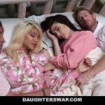 Image Barbati maturi dorm cu doua pustoaice pe care le fut brutal noaptea