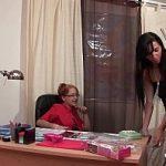 Image Casting cu bruneta nimfomana dornica de sex pe birou
