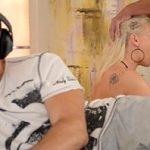 Image Victoria Redd dubla penetrate super brutala ascultand muzica la casti