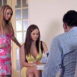 Image Cuplu pervers invita dama de companie pentru amor in trei