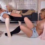 Image Fetish cu picioarele si satisfactie intre lesbiene frumoase