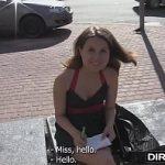 Image Rita studenta la facultate filmeaza un porno cu strain care o plateste in valuta