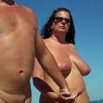 Image Video cu cupluri celebre goale pe plaja de nudisti din Eforie