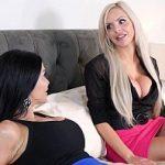 Image Jasmine Jae si Nina Elle porno impreuna cu barbat potent