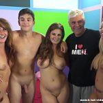 Image Fan amator futut in studio de trei starlete porno
