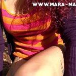 Image Mara Martinez in padurea Baneasa se fute pentru bani