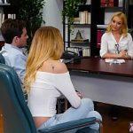 Image Terapie prin sex la cabinet cu doua blonde nimfomane