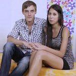 Image Cuplu tanar fac sex la webcam pentru bani