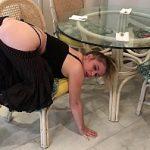 Image Erin Electra blocata sub masa si fututa brutal pe la spate