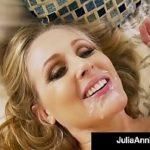 Image Julia Ann penetrata si stropita cu sloboz pe la bot