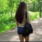 Image Evelina primeste 50 lei pentru muie rapida in parc