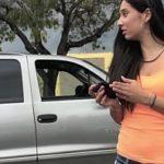 Image Tanara primeste bani pentru sex rapid neprotejat in masina