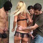 Image Veronica abuzata sexual pe strada de trei barbati