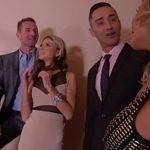 Image Gina si Rachele fac sex in grup cu barbatii dotati
