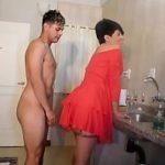 Image Fiul isi fute mama in pizda tatuata si o umple de sperma