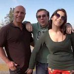 Image Valentina Nappi sex in limuzina cu doi barbati