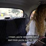 Image Sabrina in taxi suge pula si se fute pe bancheta