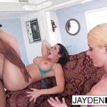 Image Jayden si Sophie sunt penetrate brutal de negru