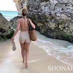 Image Turista filmata cand suge pula la ocean